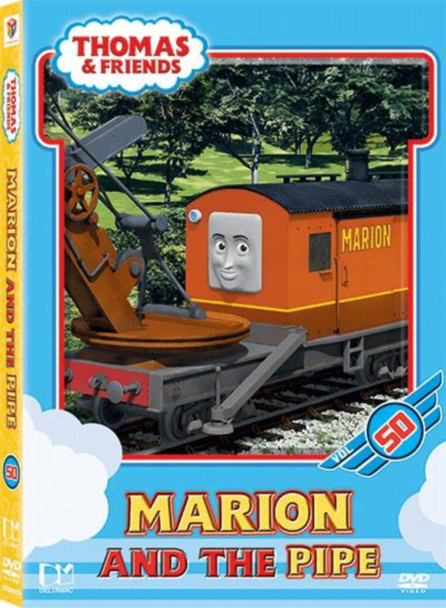 THOMAS & FRIENDS VOL50 MARION AND THE PIPE  (DVD)