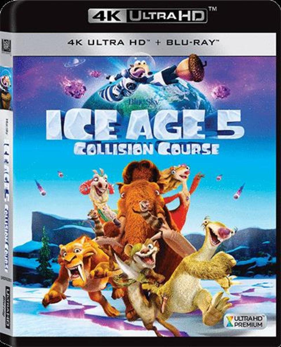 ICE AGE: COLLISION COURSE 3D (4K UHD+BD)