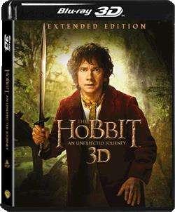 哈比人 - 不思議之旅  (3D)  (加長版)  (五碟裝) (Blu-Ray)