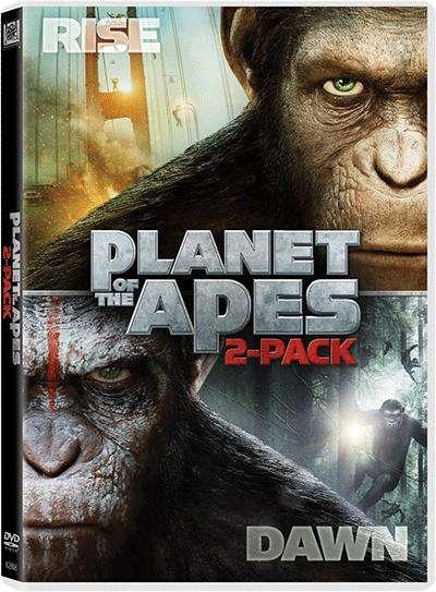 猿人爭霸戰 電影套裝 (2014) (DVD)