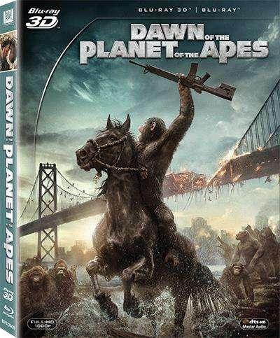 猿人爭霸戰:猩凶崛起 3D(Blu-Ray)