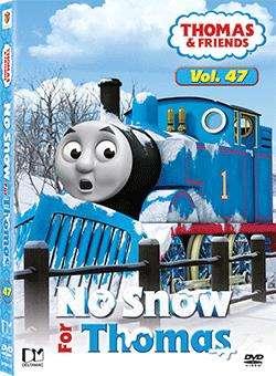 THOMAS &  FRIENDS VOL47 NO SNOW FOR THOMAS (DVD)