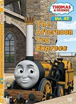 湯馬仕小火車 第45輯 THE AFTERNOON TEA EXPRESS(DVD)
