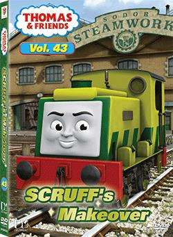 THOMAS &  FRIENDS VOL43 SCRUFF'S MAKEOVER (DVD)