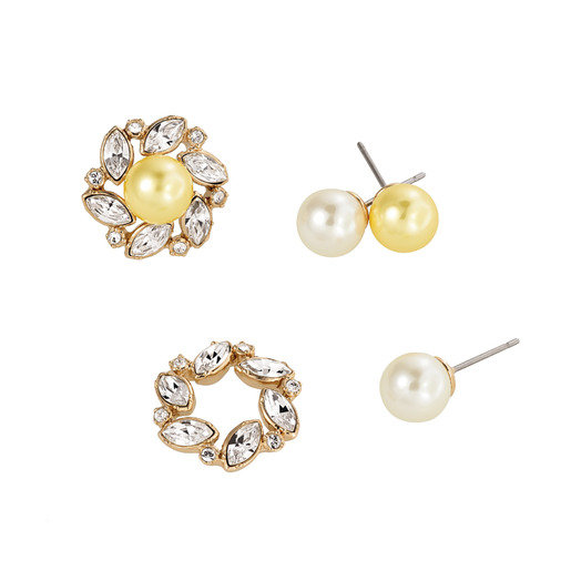 Magnifigue pierced earrings
