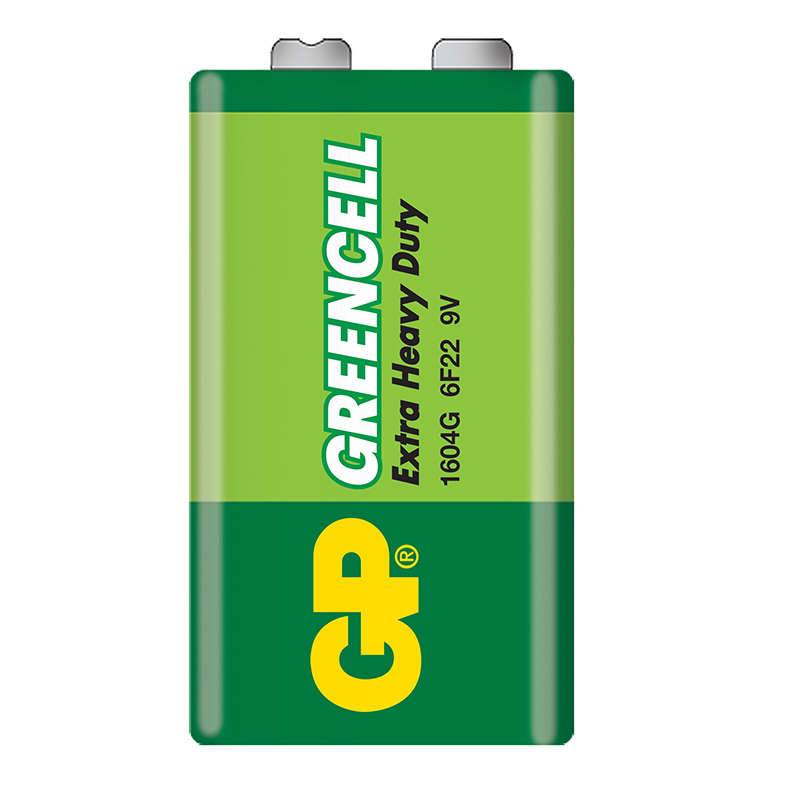GP Greencell 9V 1's bulk (lead free version)