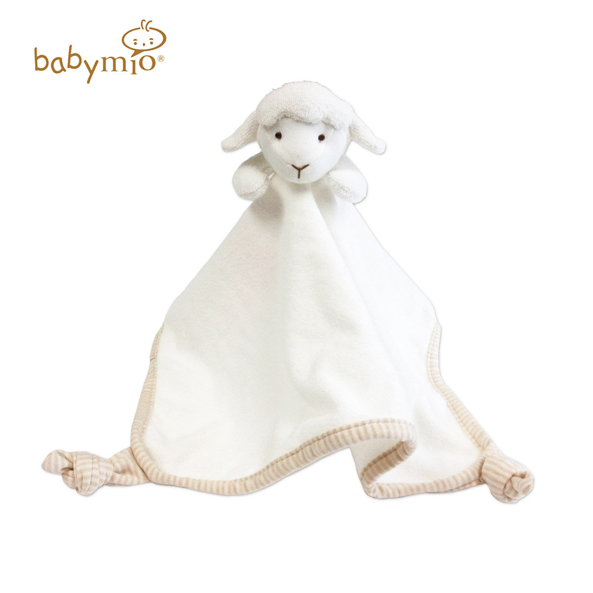 100% Organic Cotton Baby Security Snuggle Blanket / Comforter (Sheep)