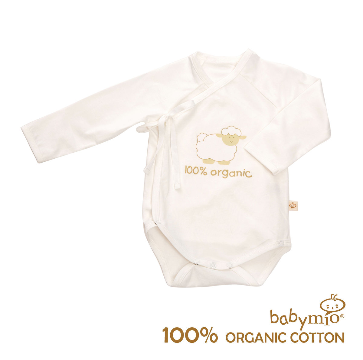 Classic Sheep 100% Organic Cotton Long Sleeved Bodysuit
