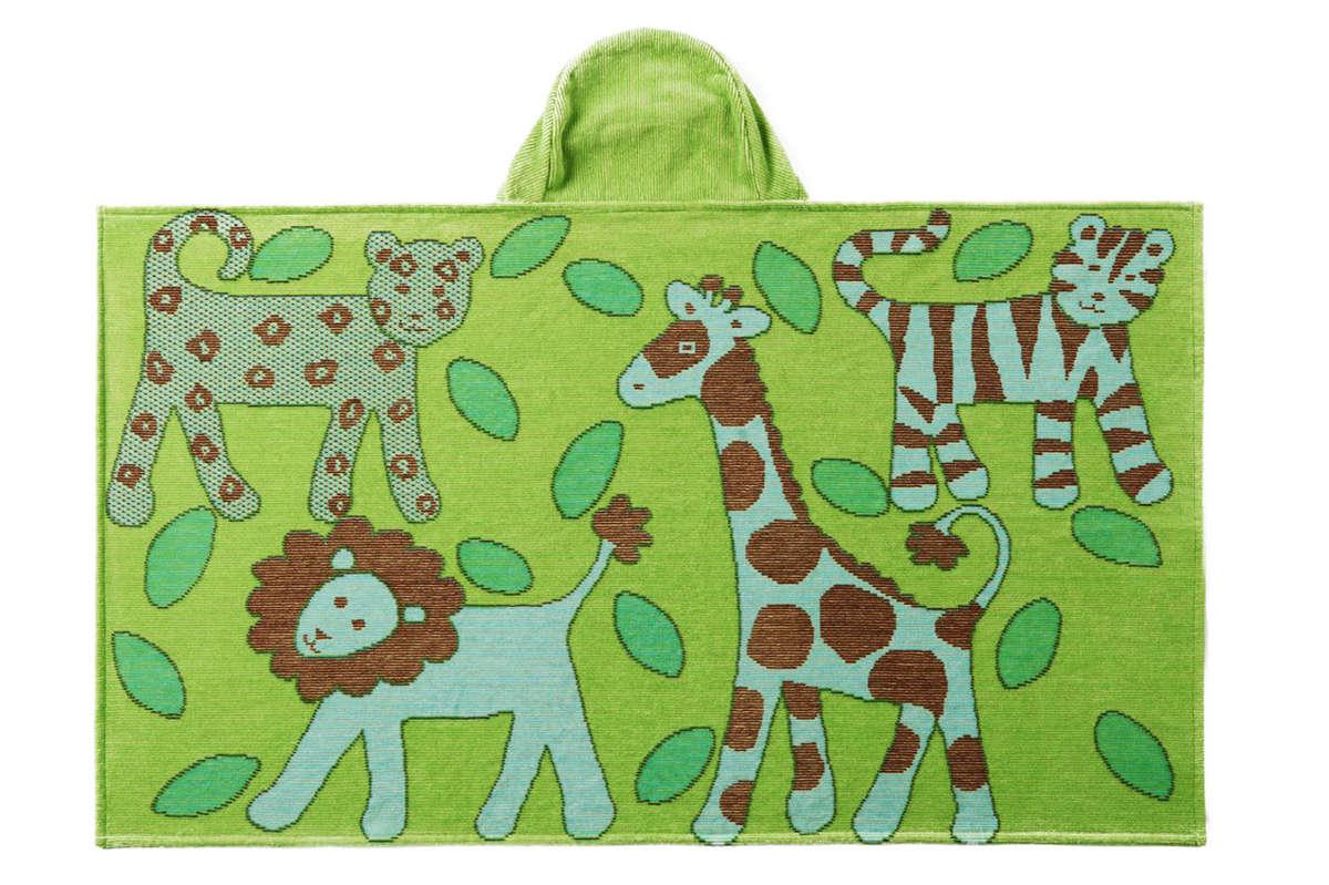 Jungle Collection:Lime Green-Bath Wrap