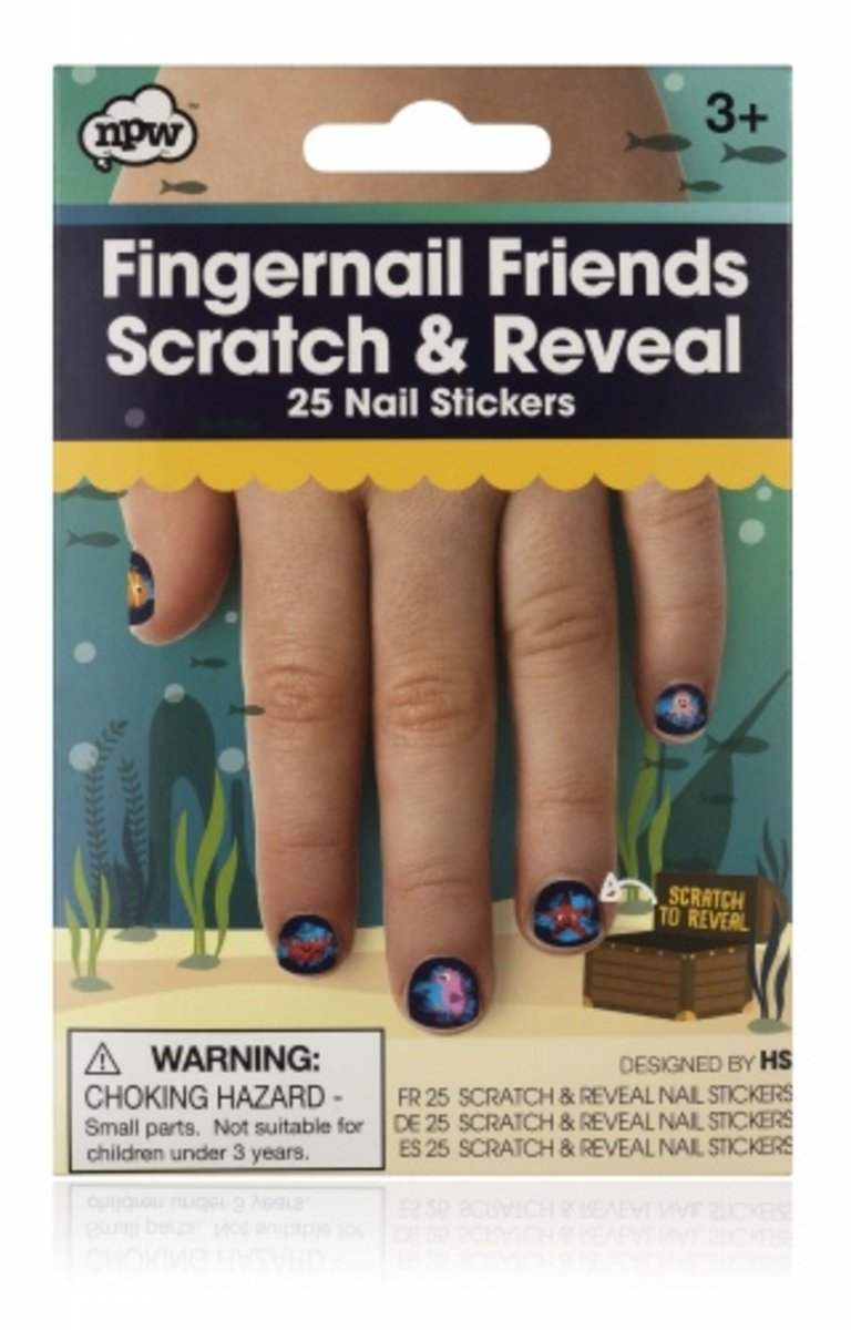 Fingernail Friends Scratch & Reveal