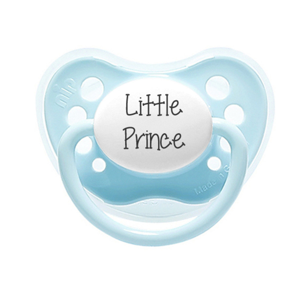 Statement Pacifiers-Little Prince (Blue) (0-6M)