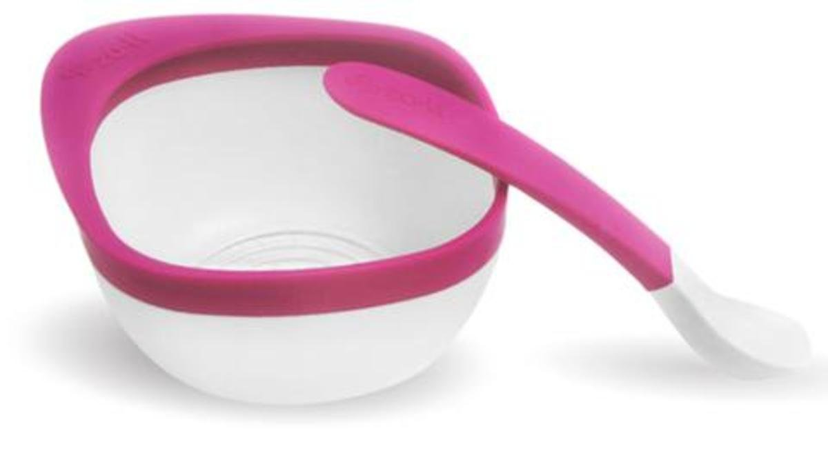 Mash Bowl and Spoon Kit-Pink