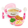 Stuck 吸盤碗套裝 - 粉紅色