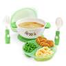 Stuck 吸盤碗套裝 - 綠色