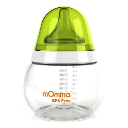 250毫升PP嬰兒奶瓶 - 綠色