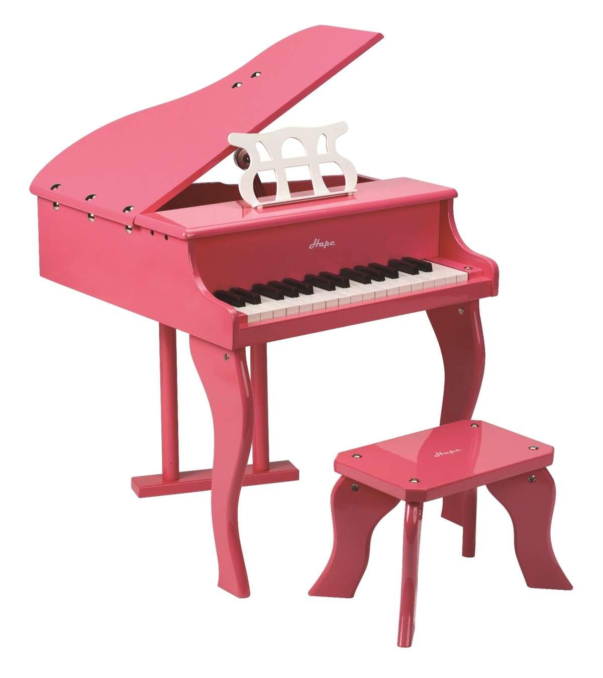 E0319-Happy Grand Piano - Pink