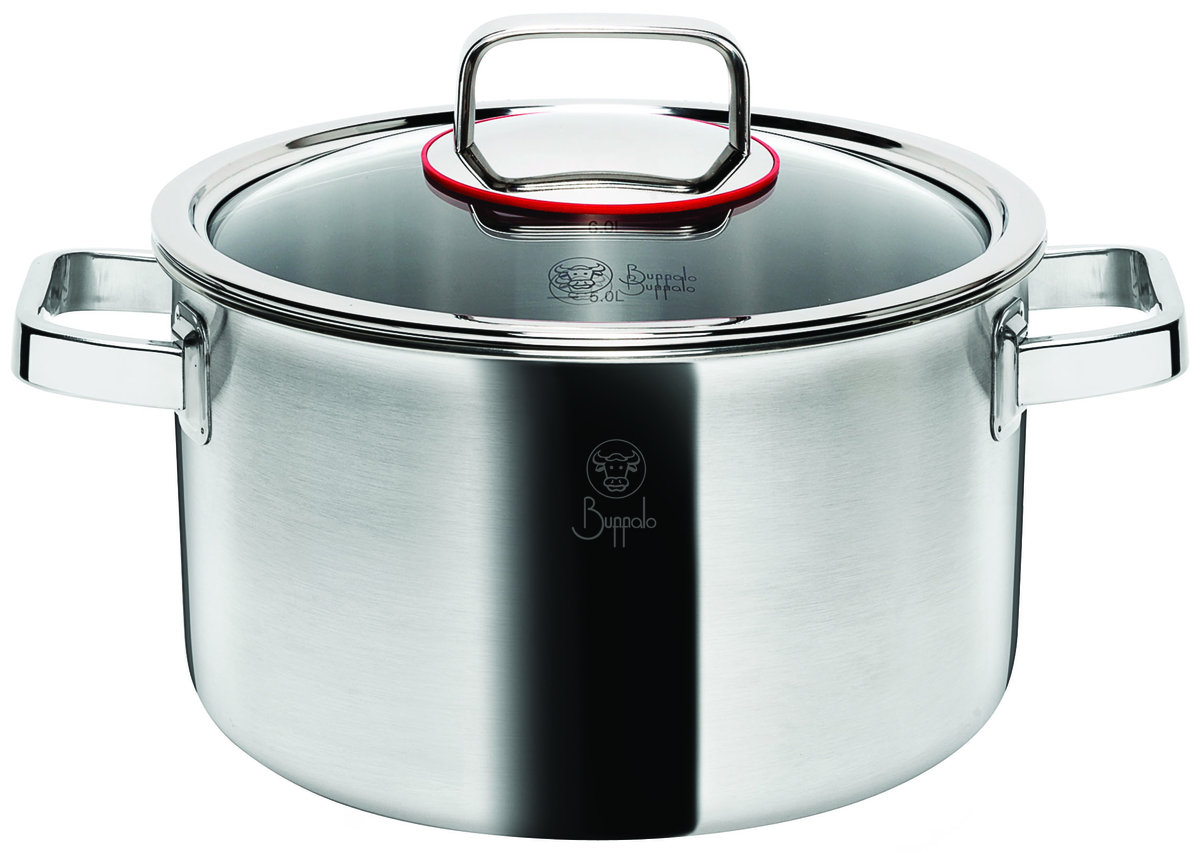 Element 22CM 5-PLY Stainless Steel Casserole with glass lid (50122S)