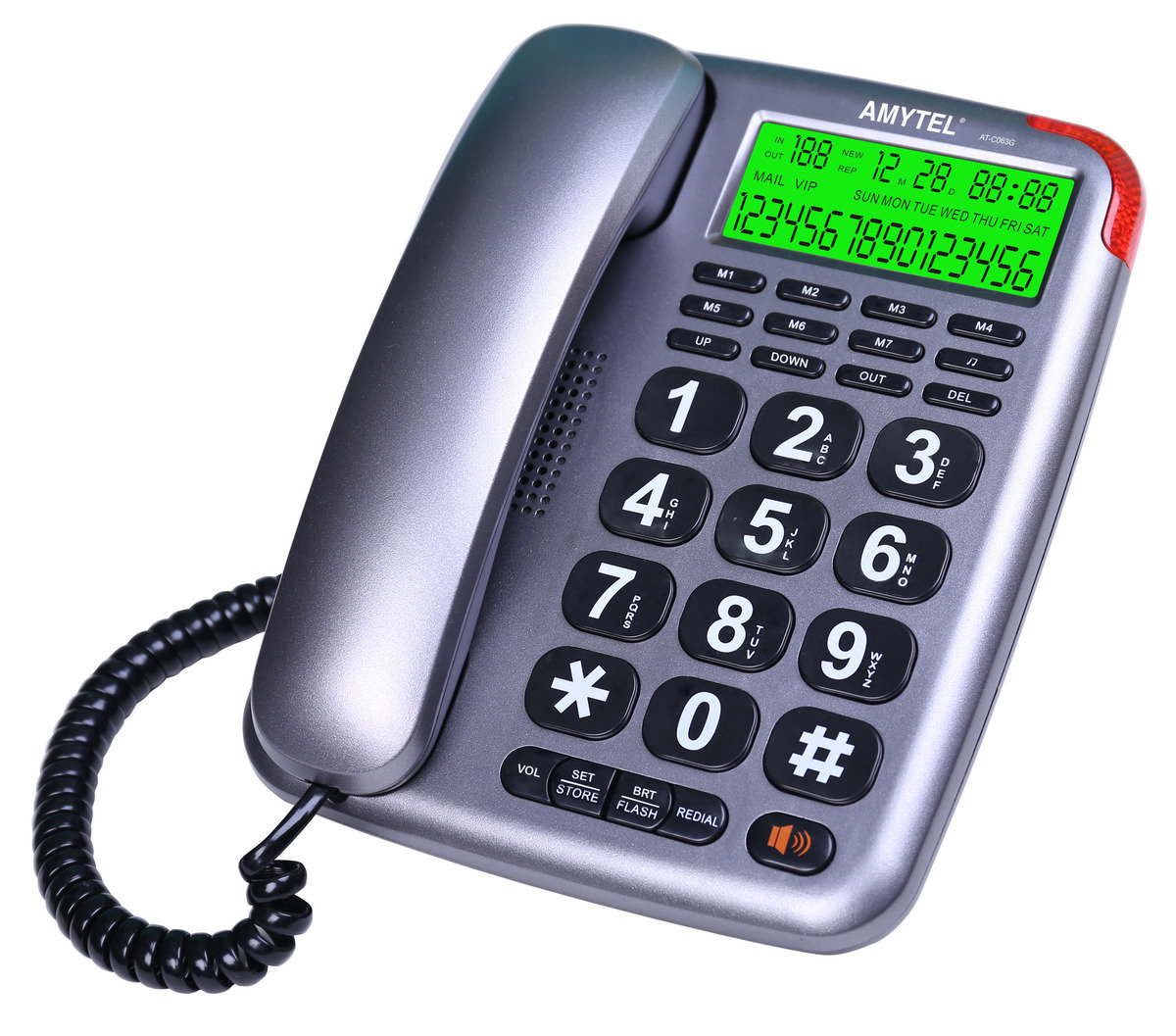 AT-C063G Big Button Home CID Phone