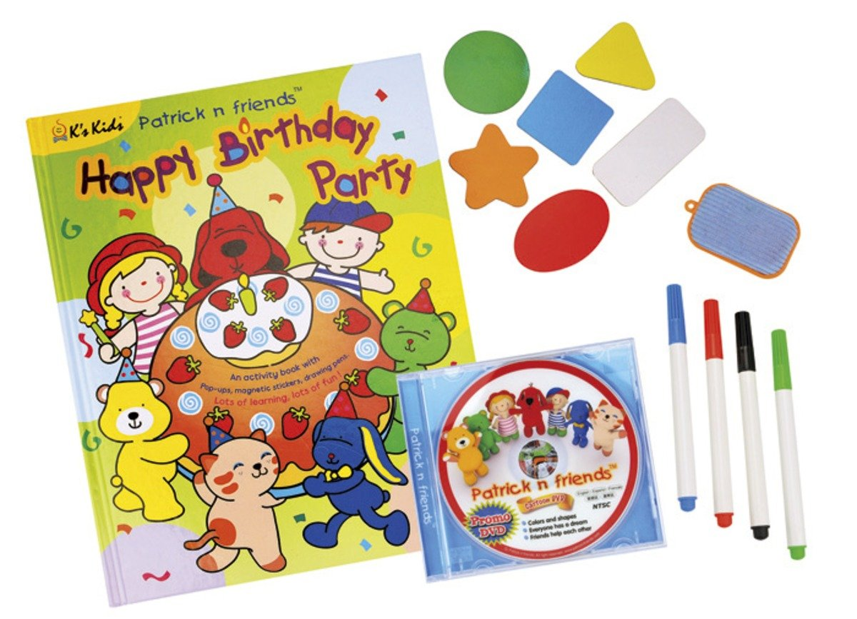 KC91101-Patrick's Party - Pop Up Activity Book