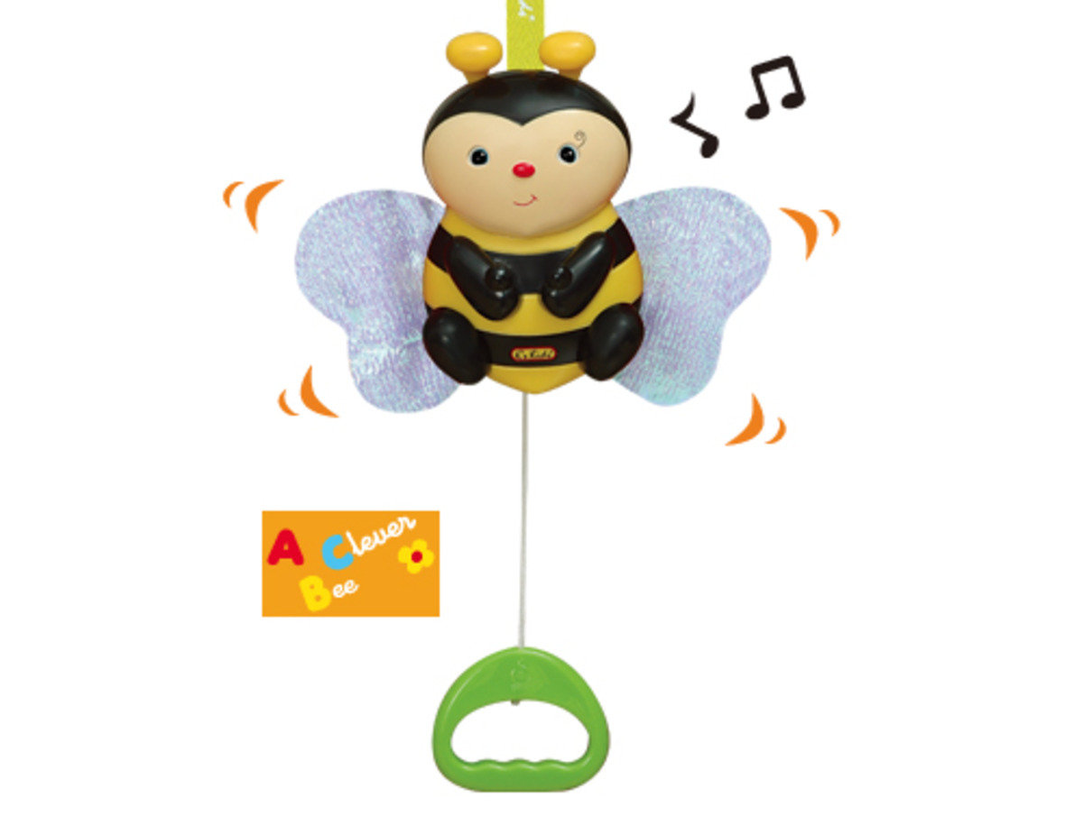 KA10503-Pull N Move Musical Pals - Clever Bee