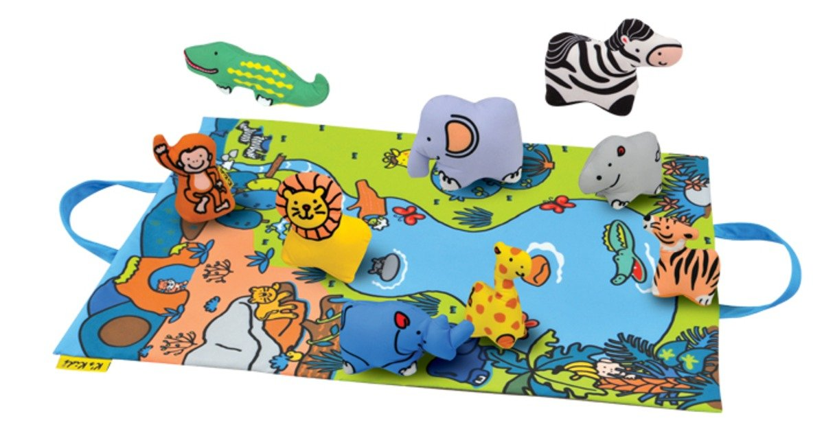 KA10744-Take along Play Set- Jungle