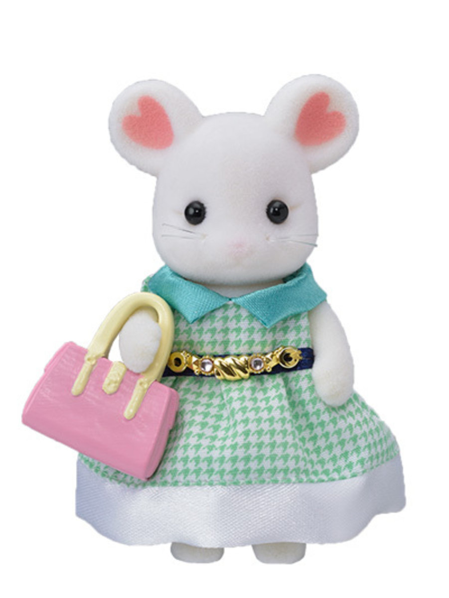 29460-Town Girl- Marshmallow Mouse
