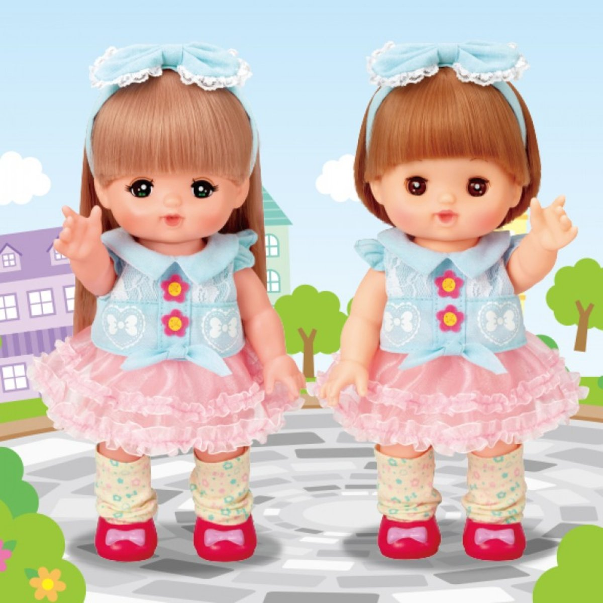 M51445-Mell Chan Girlish Dress