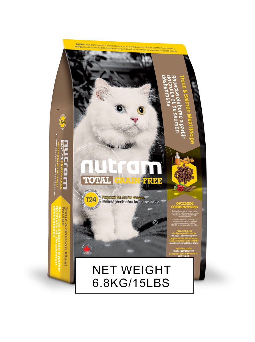 T24 Grain Free Cat Recipe Salmon & Trout 6.8kg