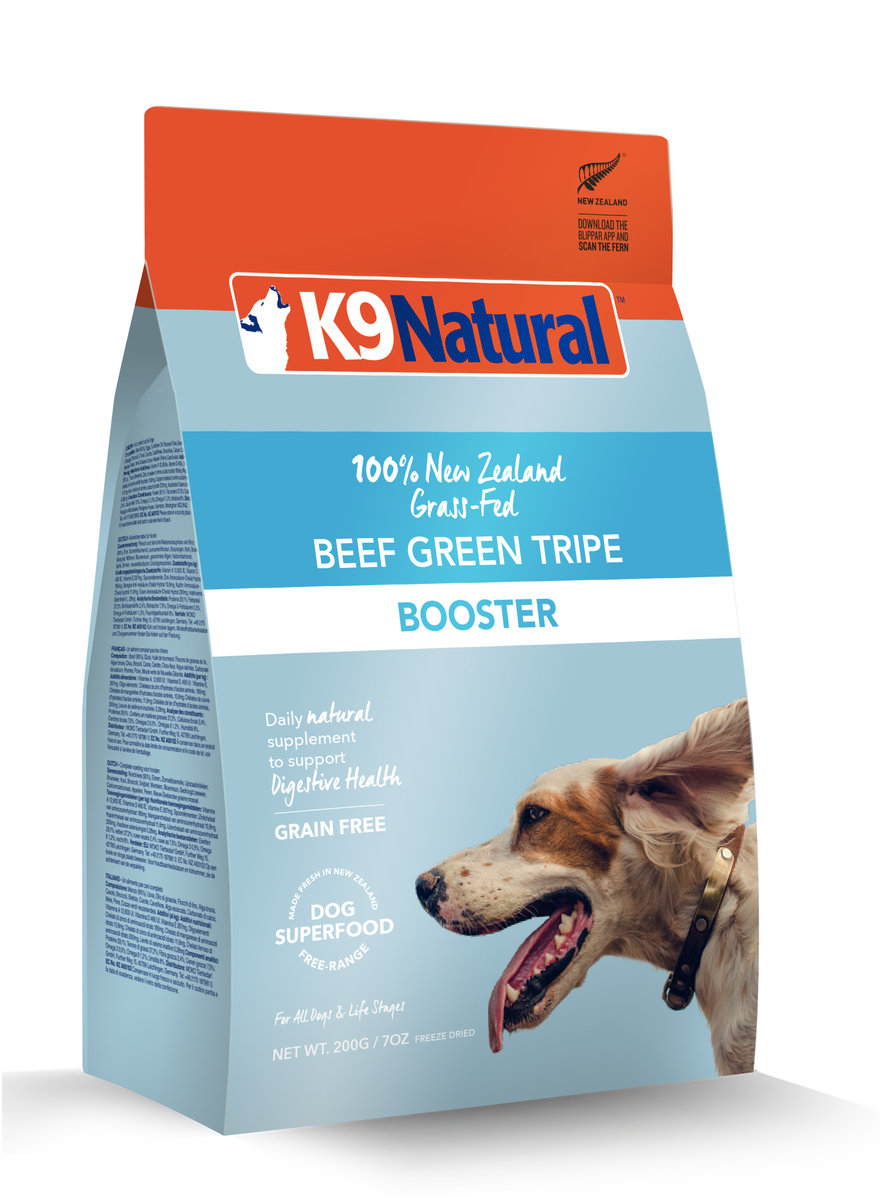 Beef Green Tripe Booster 250g (Dog)