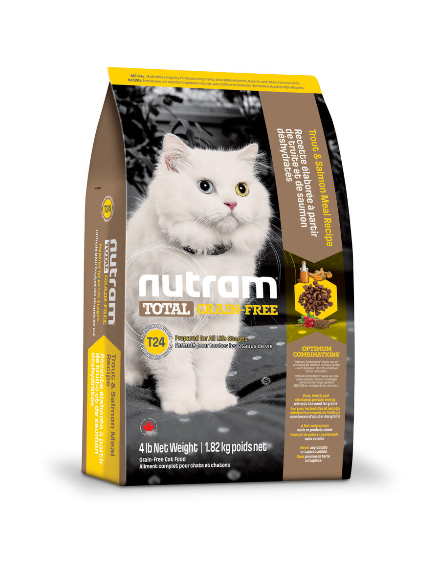 T24 Grain Free Cat Recipe Salmon & Trout 1.8kg