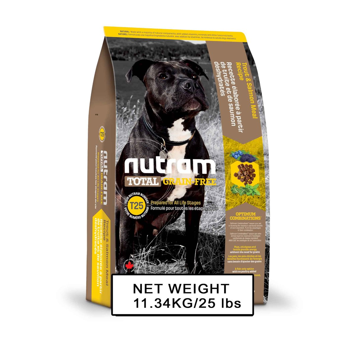T25 Grain Free Salmon & Trout Dog Food 11.34kg