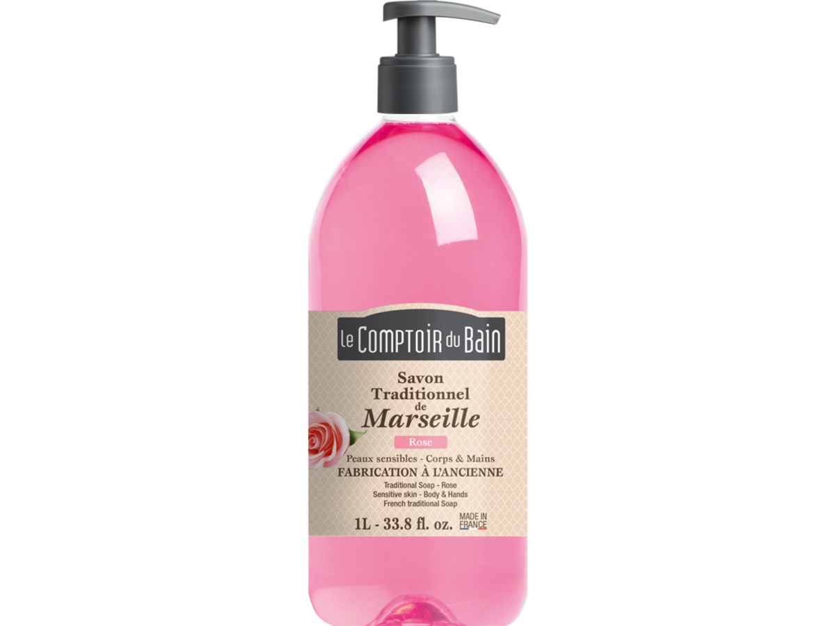 France Traditional soap Rose  1000ml