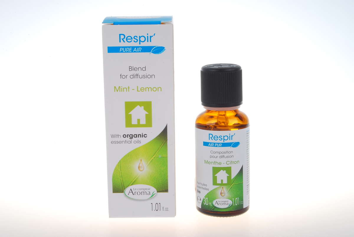 France Purifying Composition - Mint Lemon (with Organic Essential Oil) 30ml