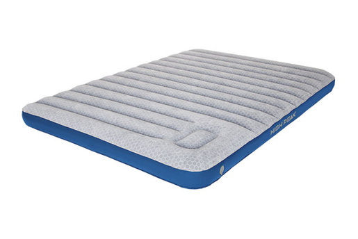 Germany Air bed Cross Beam Double Extra Long  Lightgrey/Blue