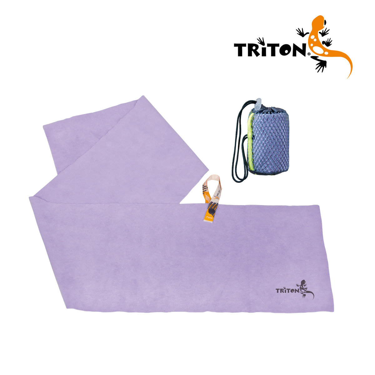 Korean Fitness Towel Violet