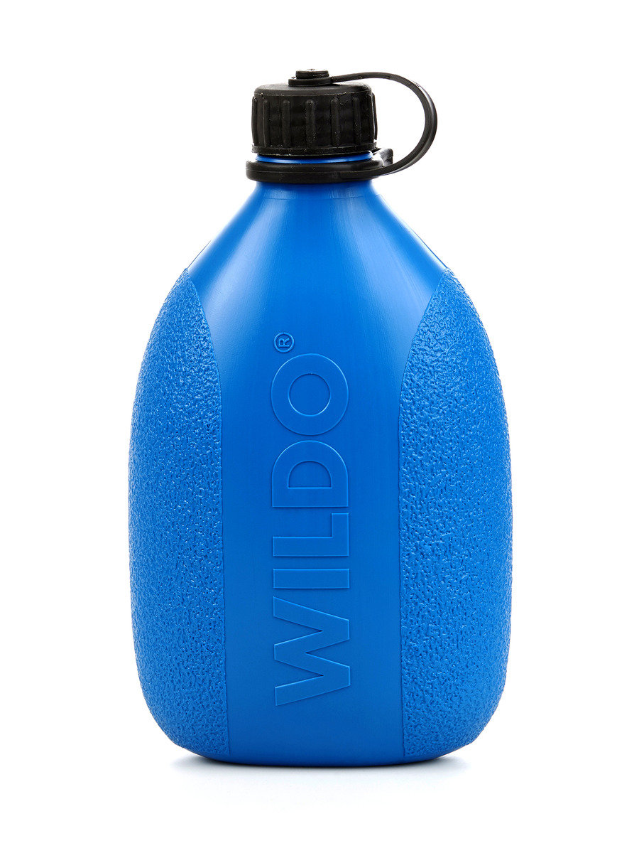 Swedish Hiking Water Bottle Light Blue