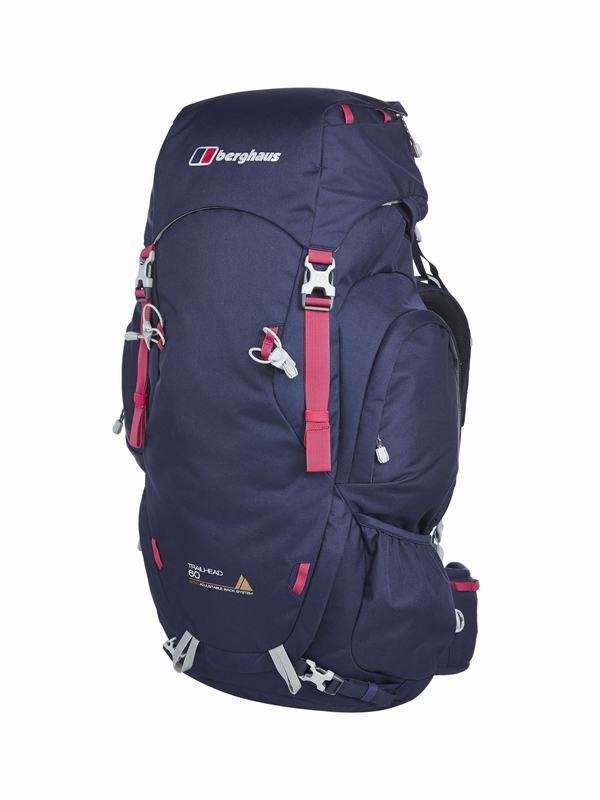 Uk Backpack TRAILHEAD 60 BRONZE RUCSAC AF DKBLU/PNK