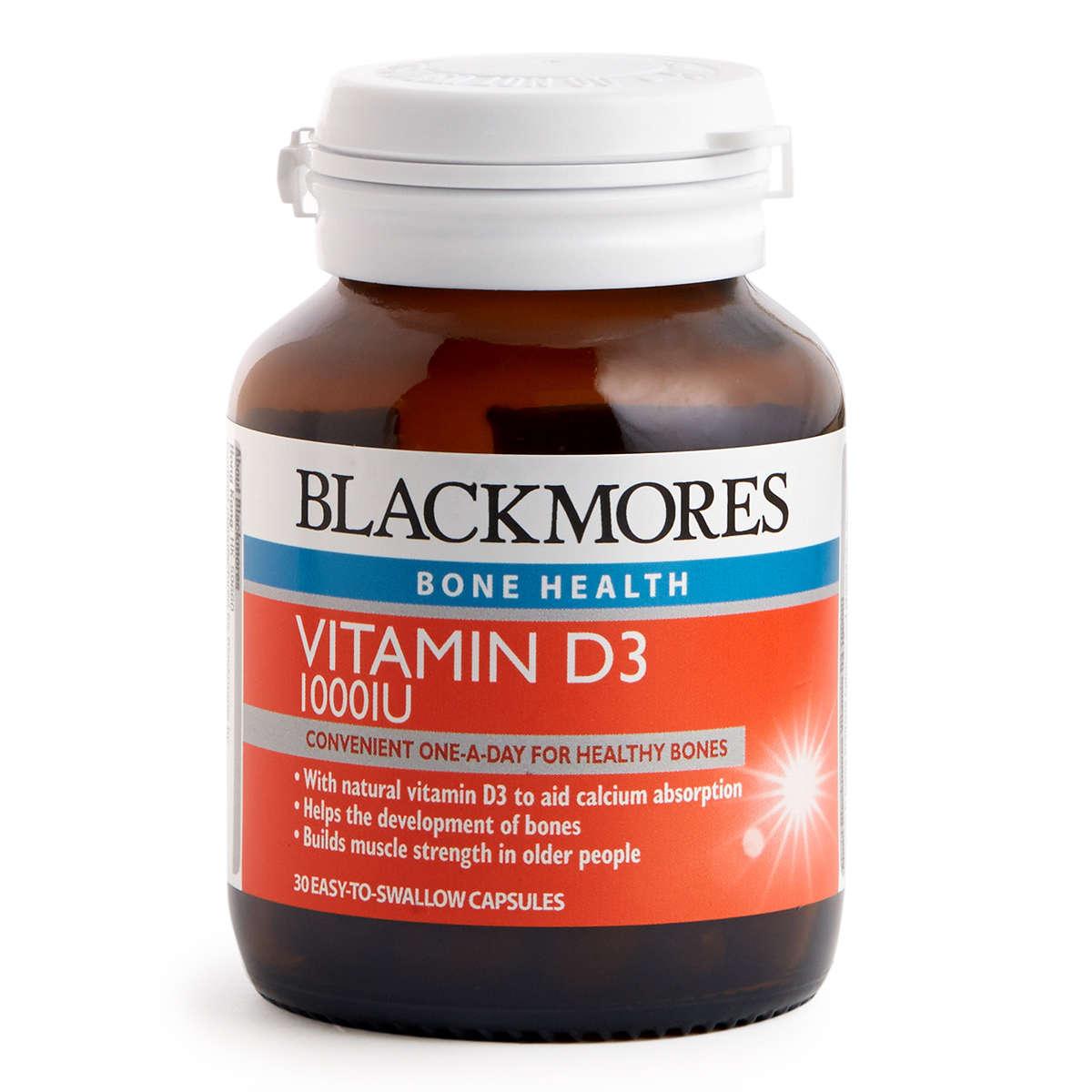 Vitamin D3 1000 IU 30 Tablets