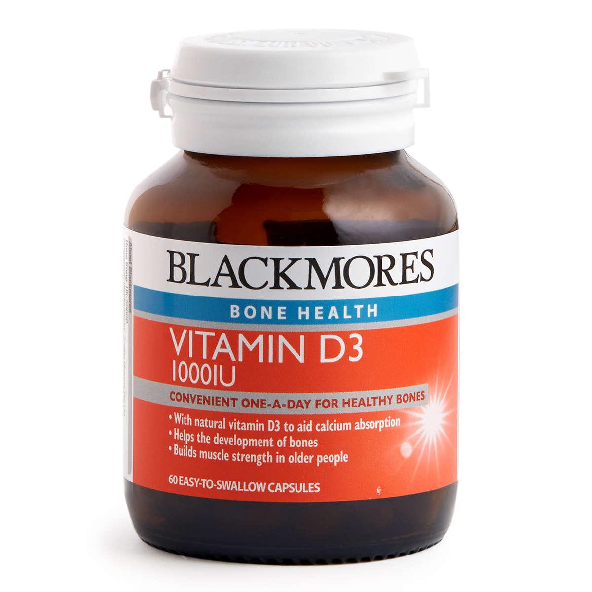 Vitamin D3 1000 IU 60 Tablets