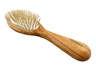 Olive Wood Hair Brush- Olive Wood Pins(1pcs)