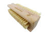 Wooden Nail Brush with Natural Sisal bristles (1pcs)