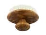 Olive Wood Head Massage -White Boar Bristles (1pcs)