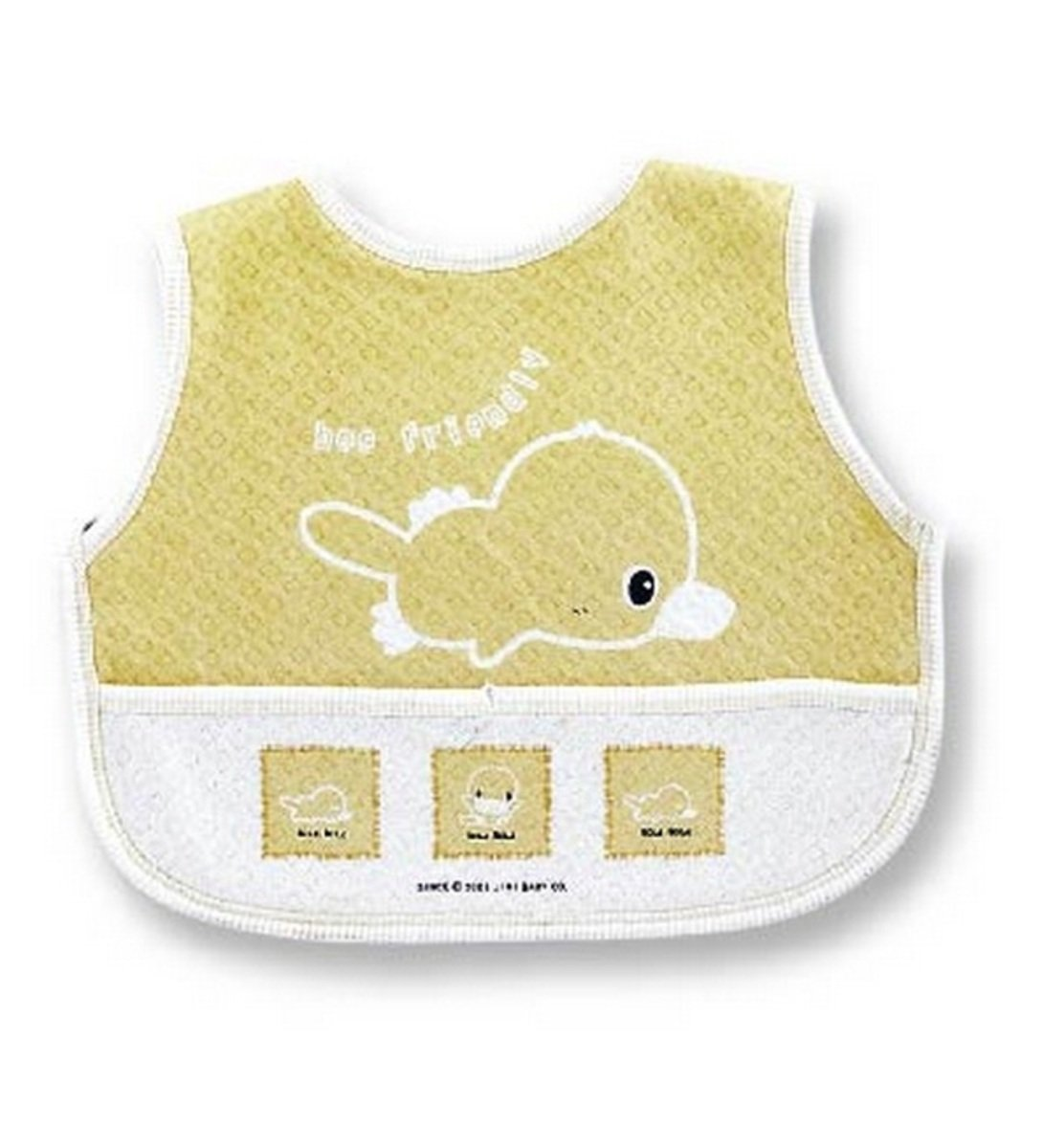 Velcro Bib-L (Yellow)