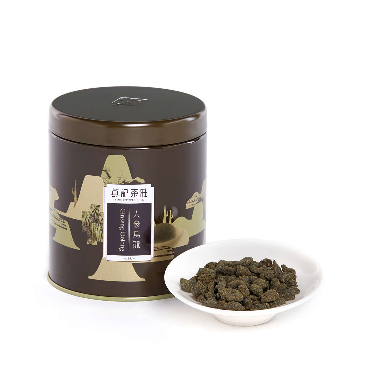 Ginseng Oolong (75g/tin)