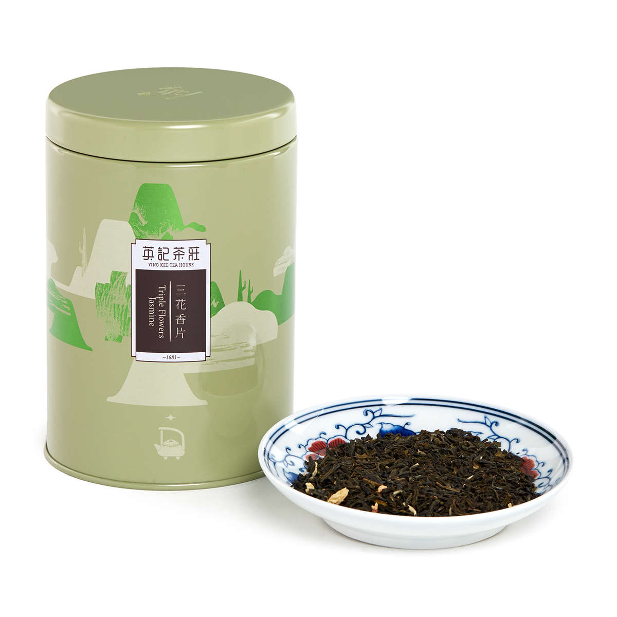 Triple Flowers Jasmine (150g/tin)