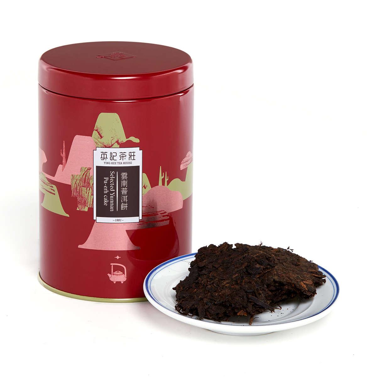 Selected Yunnan  Pu-erh Cake (150g/tin)