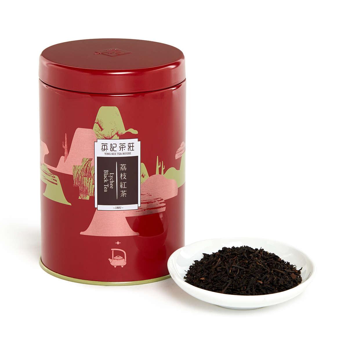 Lychee Black Tea (150g/tin)