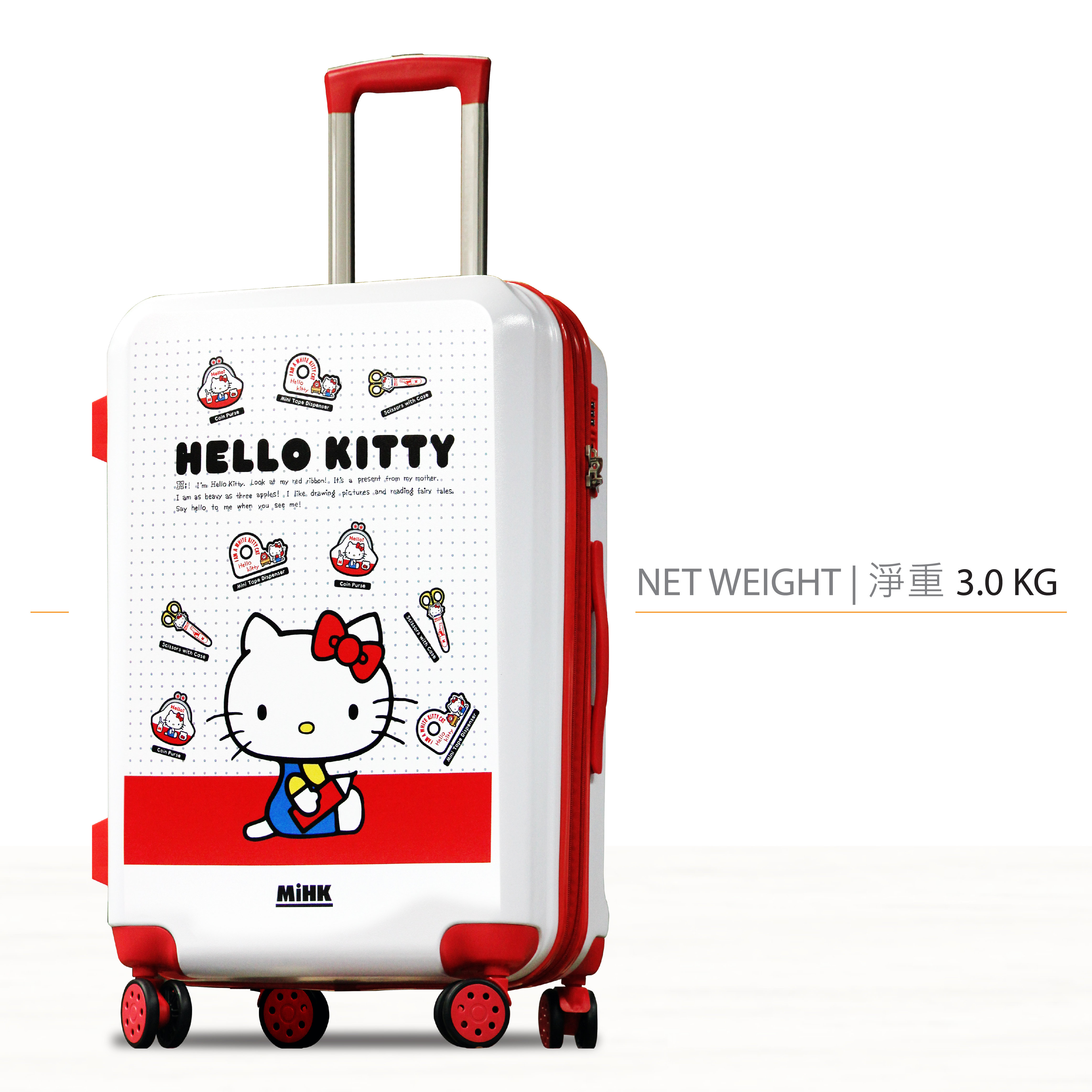 50815120d Hello Kitty | 20 Luggage | Color : Multi-Color | HKTVmall Online ...