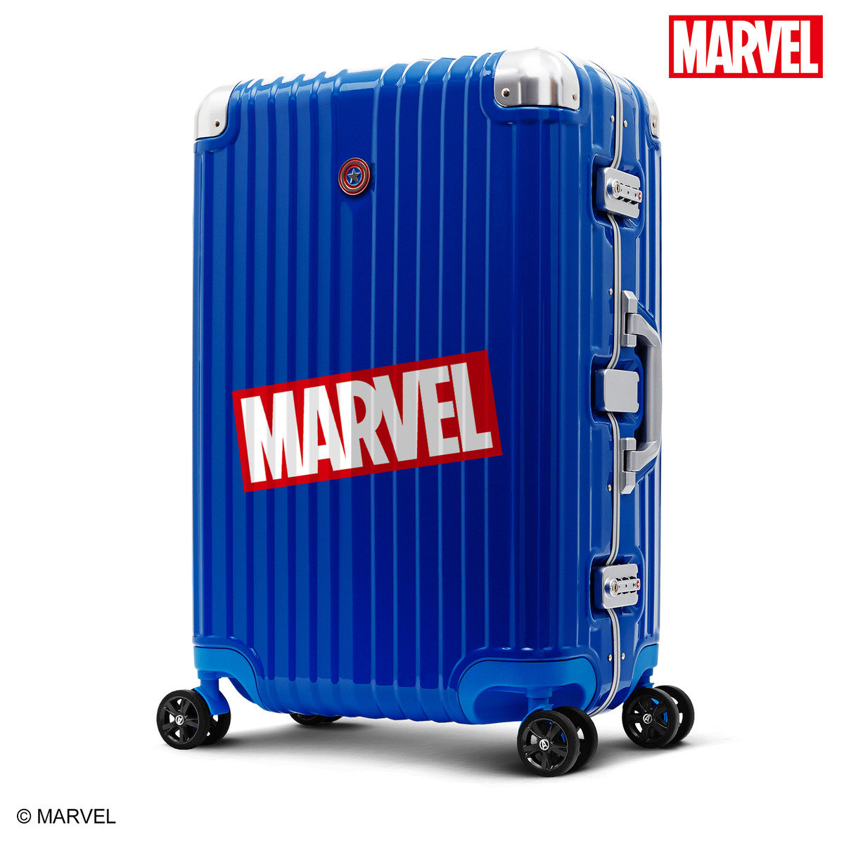 "Avengers CAPTAIN AMERICA 29"" Aluminum Frame Luggage(Licensed by Disney)"