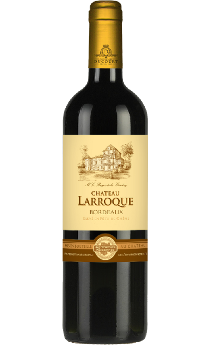 【Buy 1 Get 1 FREE】Chateau Larroque 2008 (AOC)
